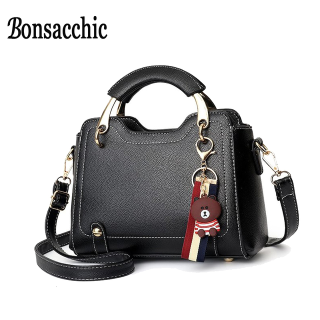 bc36699ebead Cheap Bonsacchic Small Women Bag With Short Handle Crossbody Bags ...