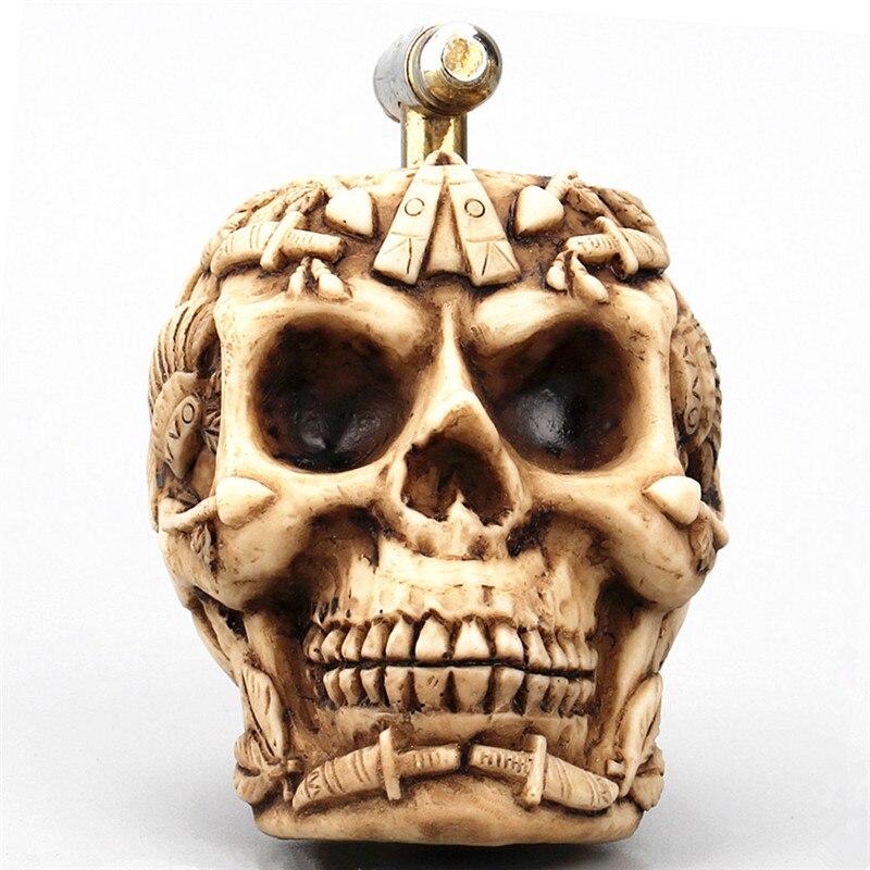 Resin Craft Skull Statue Home Decoration Accessories Creative Skull Figurines Water-tap Decoracion Hogar Skull Water-tap