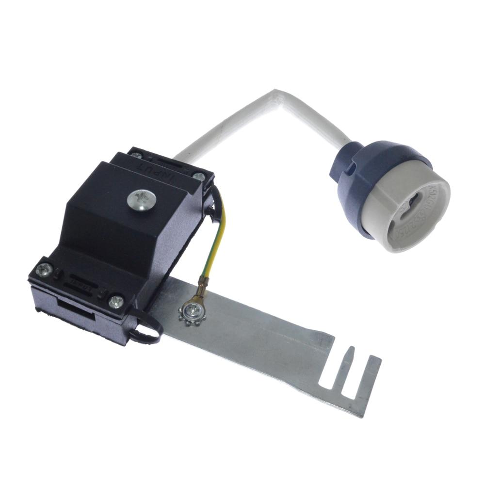 10pack Ceramic Gu10 Lampholder for Gu10 Led Spot Light 110-240V Lamp Base Lamp Accessories Lamp Connector 5 x 1w led driver w gu10 connector base white