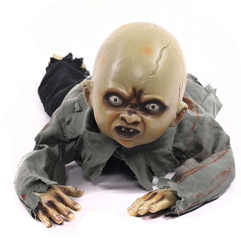 Halloween Creepy Ghost Scary Skull Doll Haunted House Escape