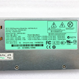 Image 2 - DL580G7 Server Power DPS 1200FB A HSTNS PL11 490594 001 438203 001 498152 001 12V 100A 1200W Switching power supply