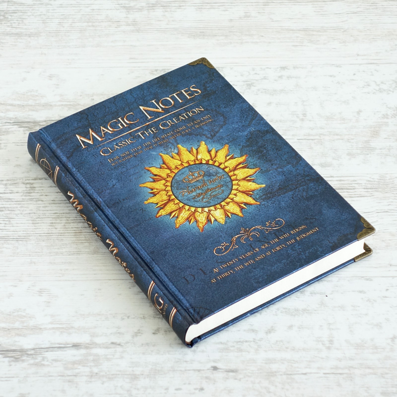 Magic Notes Notebook Vintage Hardcover Creative Stationery Book Folios Movie Related Present