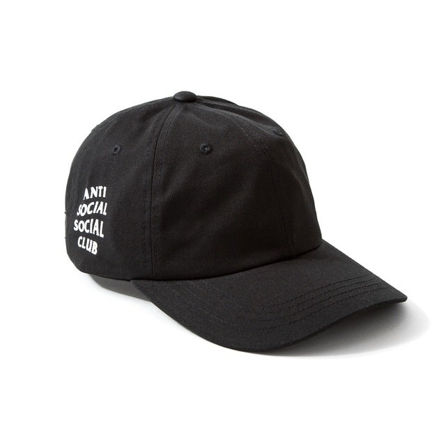 BRAND BLACK ANTI SOCIAL SOCIAL CLUB AUTHENTIC GET WEIRD CAP TRAVIS SCOTTS  HAT RODEO FREE SHIPPING ec37710c363