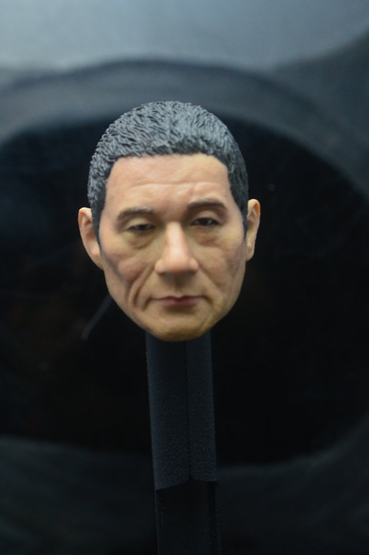 1 6 Japanese Famous Star Kitano Takeshi head sculpt in Action Toy Figures from Toys Hobbies