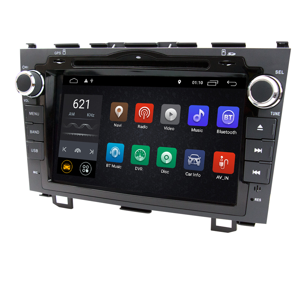 Eunavi 2G RAM 2 Din Android 9 1 Car DVD Player Car Radio GPS for Honda