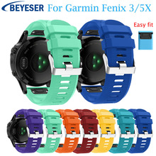 WristStrap for Garmin Fenix 3 HR Coloful smartband For 5X Plus Sport Replacement Quick release Easy fit watchband