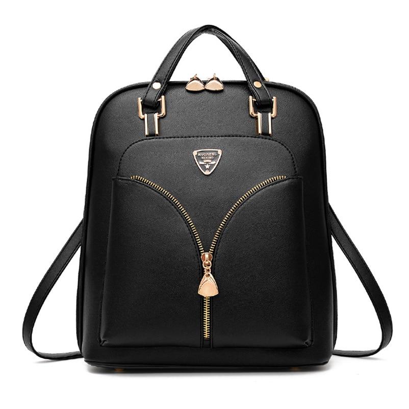 HTB1eXRgkf6TBKNjSZJiq6zKVFXaf Nevenka Anti Theft Leather Backpack Women Mini Backpacks Female Travel Backpack for Girls School Backpacks Ladies Black Bag 2018