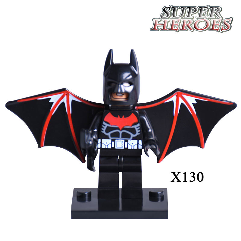 XINH 130 Batman Beyond Marvel Super Heroes Bruce Wayne diy figures Avengers Building Blocks Baby Kids DIY Toys Xmas Gifts single sale pirate suit batman bruce wayne classic tv batcave super heroes minifigures model building blocks kids toys gifts