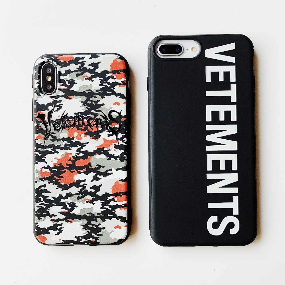 dd71d30fc3 Camouflage Fashion Trend Luxury Brand Sports Phone Case For iphone 6 6s 7 8  Plus 7