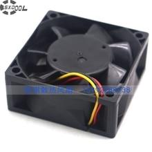 SXDOOL MR-J3 CB0500H01 MMF-06F24ES-RP3 6025 DC24V 0.10A 3wire server inverter cooling fan