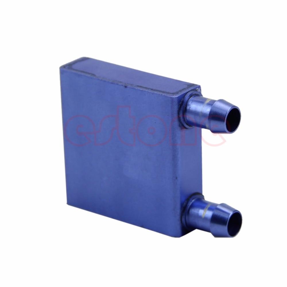 Water Cooling Heatsink Block Liquid Cooler Aluminium Waterblock For CPU GPU SR - L059 New hot new 41 x 122 x 12mm water cooling heatsink block waterblock liquid cooler vacuum aluminum brazing heatsink cooler for cpu gpu