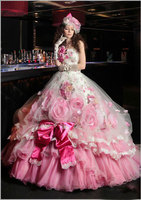 2019 New Arrival Long Quinceanera Dresses for Formal Party Off the Shoulder Tulle Ball Gown Party Debutante Dresses Ruched