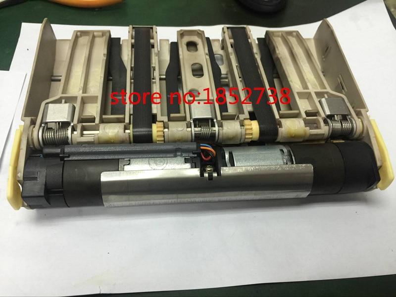 high quality original 85% new wincor ATM Parts CMD-V4 Clamping Transport Mechanism 1750053977 / 01750053977 new original atm machine spare parts wincor 2050xe measuring station 1750044668 01750044668