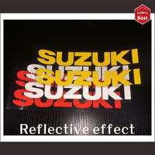 2.5cm*3cm Reflective stickers car-styling stickers motorcycle stickers car accessories for suzuki MOTO car vr46 car-styling