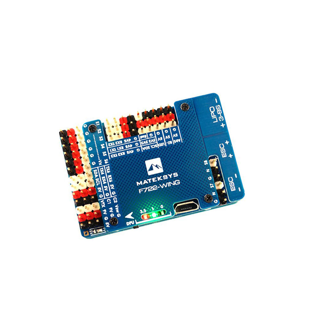 Image 2 - Matek Systems F722 WING STM32F722RET6 Flight Controller Built in OSD for RC Airplane Fixed Wing-in Parts & Accessories from Toys & Hobbies