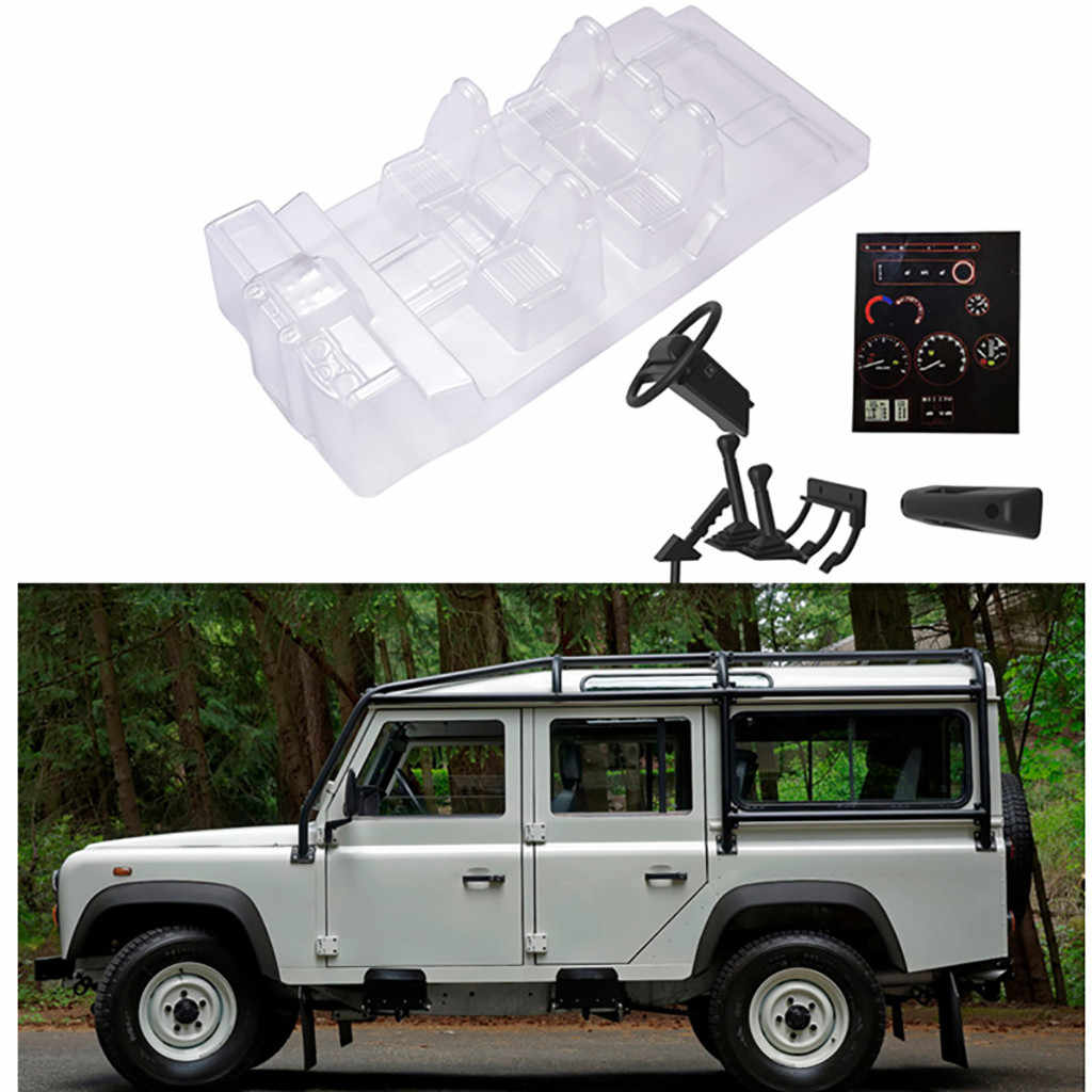 hight resolution of  simulation car interior decoration parts for traxxas trx 4 land rover trx4 defender d110 toys