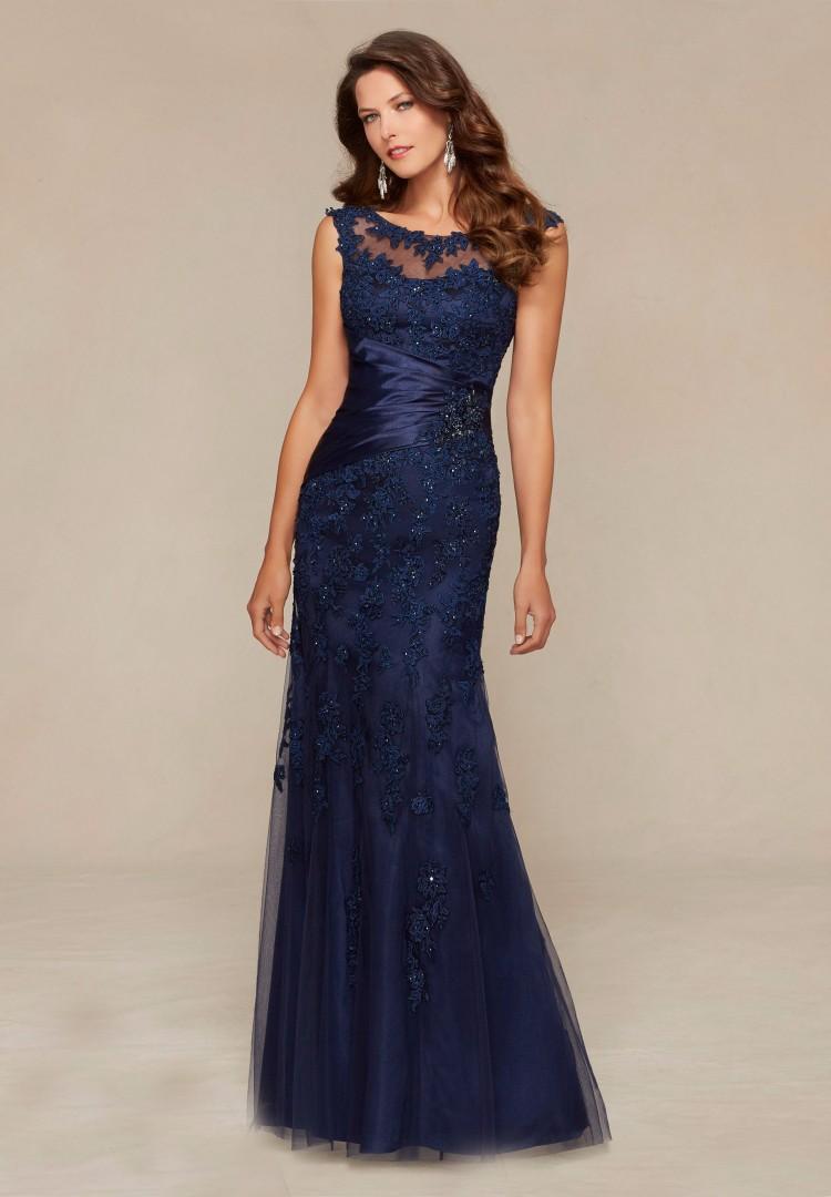GP6-Custom-Made-Formal-Vestido-de-festa-Long-Navy-Blue-Lace-Mermaid-Evening-Dress-2016-New (2)