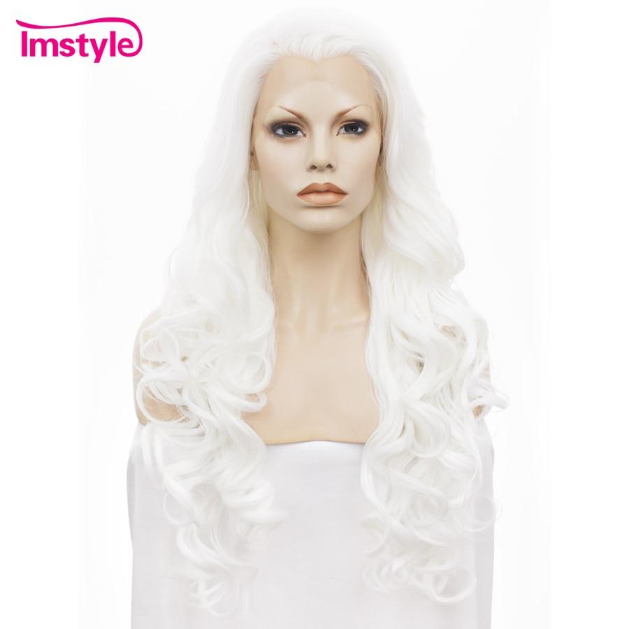 Imstyle Wavy Synthetic Vit färg 26