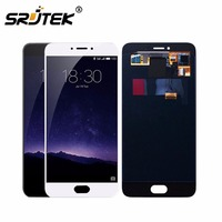 SRJTEK For Meizu MX6 Pro LCD Display With Touch Screen Digitizer Assembly Black White Replacement Parts