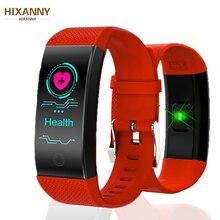 Bracelet intelligent IP68 étanche Smartband fréquence cardiaque moniteur de sommeil sport passomètre Fitness Tracker Bluetooth Smartwatch Relogio