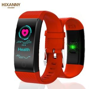 Image 1 - חכם צמיד IP68 עמיד למים Smartband קצב לב צג שינה ספורט Passometer כושר Tracker Bluetooth Smartwatch Relogio