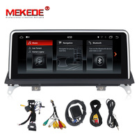HD touch screen 10.25'' PX3 Android7.1 Quad core Car Multimedia RDS player for BMW X5 E70/X6 E71 (2007 2013) CIC/CCC system