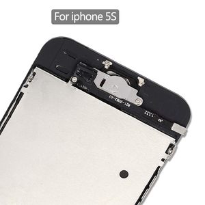 Image 4 - part original Full assembly LCD Screen for iPhone5/5C/5S/SE LCD Display Touch Screen Digitizer full Replacement home butt Camera