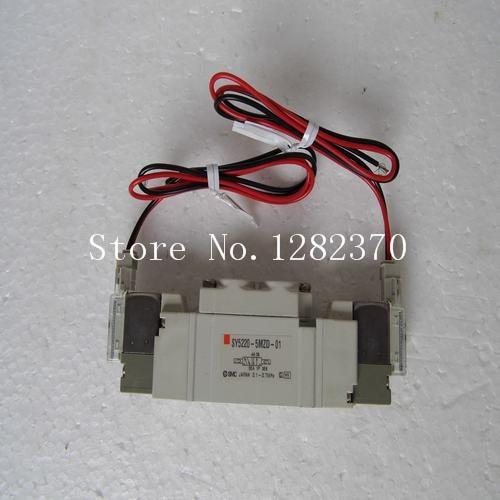 [SA] New Japan genuine original SMC solenoid valve SY5220-5MZD-01 spot --2PCS/LOT  цены