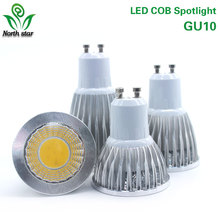 Super Bright E27/E14/GU10/MR16 Bulbs Light 110V/220V/12V Dimmable Led Warm/Cool White 85-265V  9W COB LED Spotlight