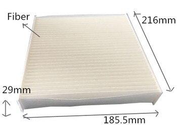 Bezpłatna przesyłka AC-111E Factory Outlet OEM 87139-58010 biały filtr powietrza kabiny samochodu dla TOYOTA 29*216*185.5mm