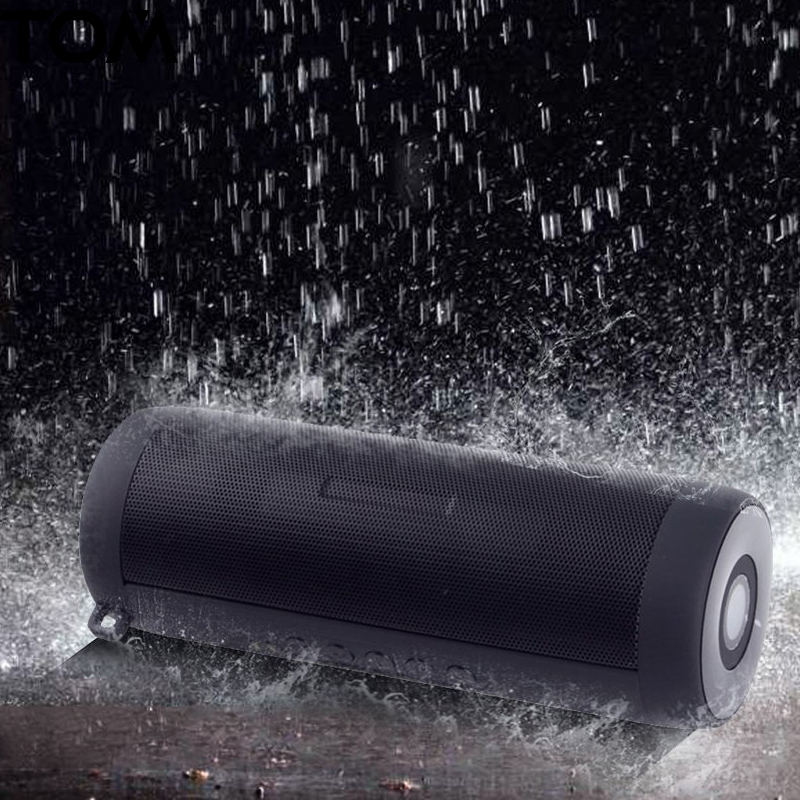 TOP quality Bluetooth Speaker Waterproof Portable Outdoor Mini Column Box Loudspeaker Wireless Speaker Design for iPhone Xiaomi цена 2017