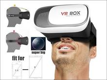 VR glasses 2 Google Cardboard Plastic 3d google glasses II vr virtual reality 3D glasses or video glasses for IOS Android phone