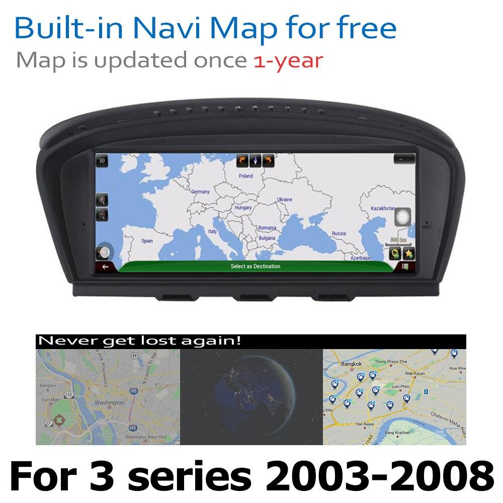 מערכת ניווט GPS DVD לרכב נגן עבור BMW 3 Series E90 E91 E92 E93 2003 ~ 2008 CCC המקורי מערכת אנדרואיד 8.0 עד Autoradio ניווט GPS (5)