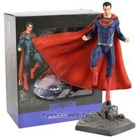 DC Superman Figure IRON STUDIOS Justice League Superman Action Figure Super Man PVC Collectible Model Toy