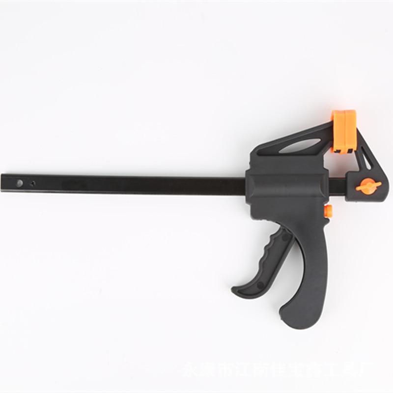 Pack 4 One-Handed Mini 4 pouces Ratchet Bar Clamp Quick-Grip pour le travail du bois