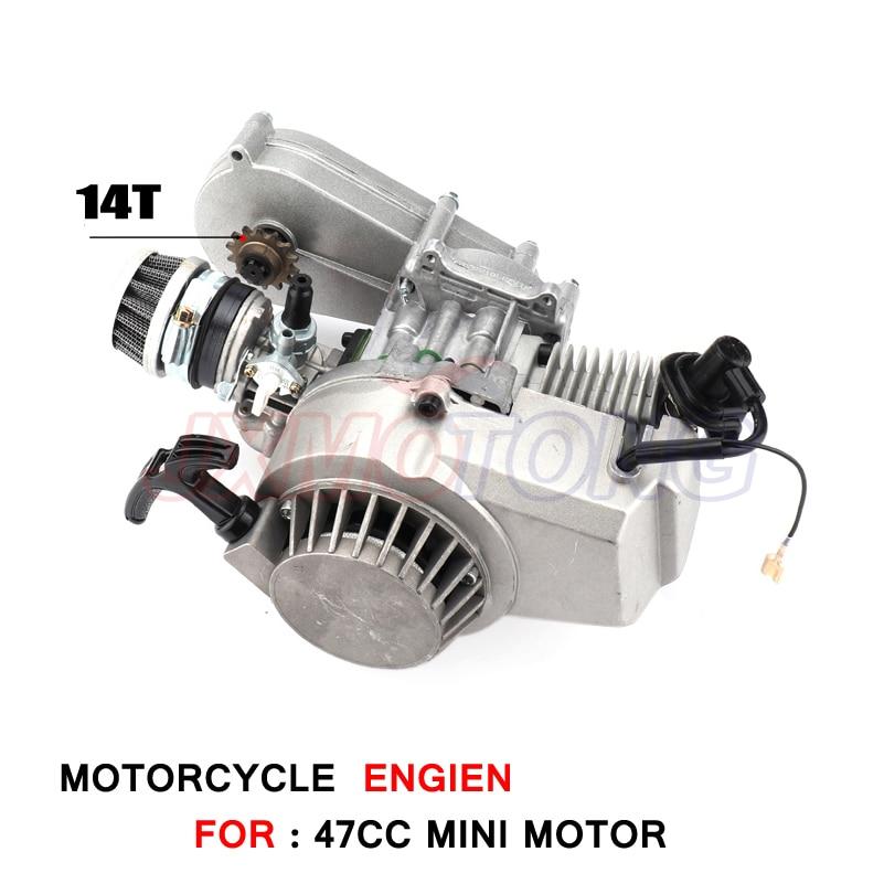 13 mm//0,5 pollici Carburatore motore compatibile con 43cc//49cc Mini PIT Dirt Pocket Bike Mini Quad ATV Pocket R Carburatore