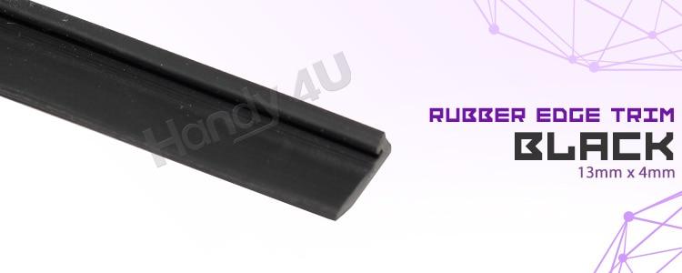 US $19 99 20% OFF J Shape Universal Black PVC Car Auto Pillar Edge Rubber  Trim Edge Strip Seal Protector Noise Insulation 315
