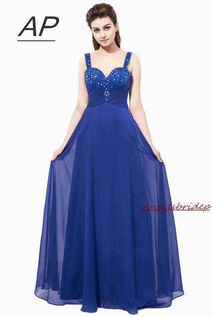 c84647d29f2 ANGELSBRIDEP Fashion Spaghetti Straps Bridesmaid Dresses Sweetheart Beading  Vestidos Damas De Honor Largos Formal Party Gown