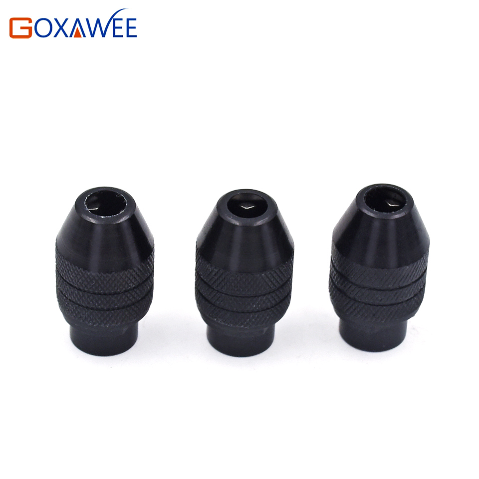 GOXAWEE 1pc Drill Accessory Universal Multi Keyless Universal Chuck - لوازم جانبی ابزار قدرت