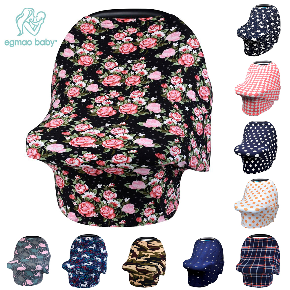 beautiful rose nursing cover breastfeeding scarf baby car seat canopy for girls and boys best. Black Bedroom Furniture Sets. Home Design Ideas