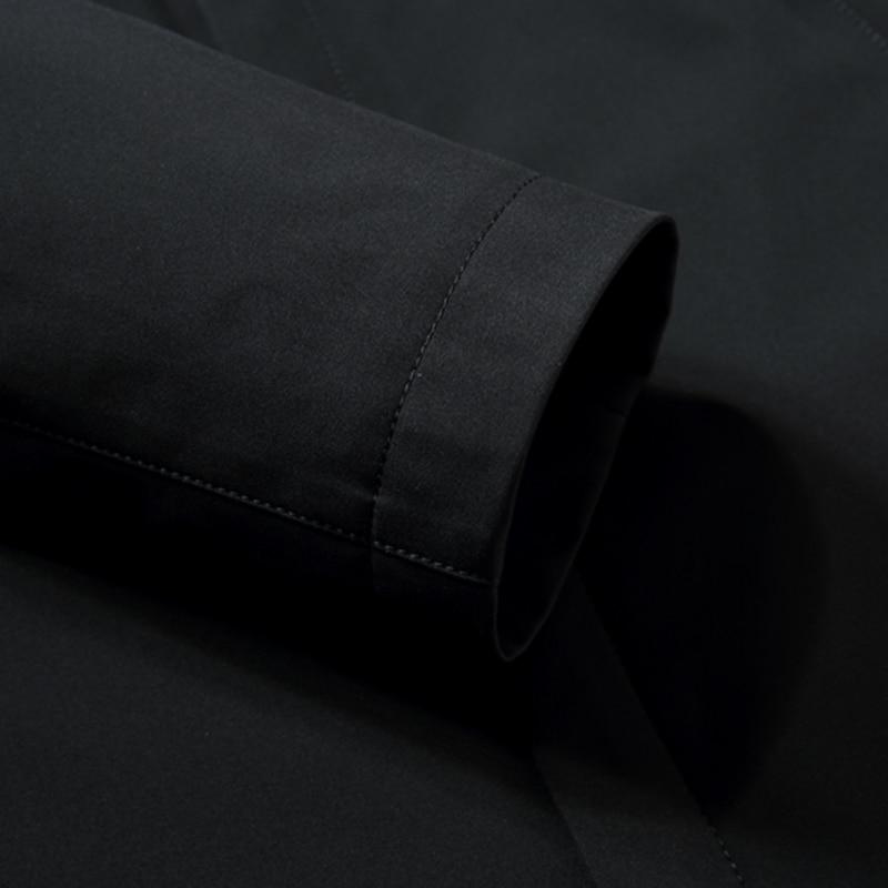 Женская длинная зимняя куртка EURASIA, новая брендовая стильная парка с воротником из натурального меха, плотная верхняя одежда с капюшоном, ... - 5