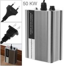50KW Intelligent Electricity Saving Box 90-250V Power Factor Energy Saver ahorradorde Electricity Bill Killer with EU/UK Plug