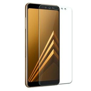 Image 5 - 9 H de Vidro Temperado Para Samsung Galaxy A8 2018 Temperado Tela de Vidro Para Samsung Galaxy A8 2018 A530 A530f SM a530F protetor Flim