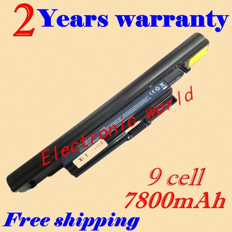 JIGU 6600mAh Battery for Acer  3ICR66/19-2 AK.006BT.082 AS01B41 AS10B31 AS10B3E AS10B41 AS10B51 AS10B5E AS10B61 AS10B6E AS10B71JIGU 6600mAh Battery for Acer  3ICR66/19-2 AK.006BT.082 AS01B41 AS10B31 AS10B3E AS10B41 AS10B51 AS10B5E AS10B61 AS10B6E AS10B71