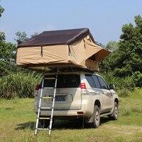Заводская распродажа низкая цена алюминиевый полюс водонепроницаемый семьи складной тент автомобиля крыше палатки с непромокаемые солнце