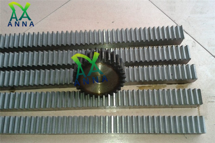 2Pcs/lot 1.5Mod 1.5 Modulus High Precision Gear Rack Steel 15*15*500mm + 2Pcs 1.5M 16teeth Pinion Cnc Rack Mod 1.5 Rack