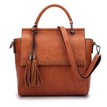 Новые роскошные брендовые Для женщин Сумки Леди Большой сумка женская Сумки на плечо Bolsas femininas коричневый, Черный Красный кисточкой большой зеленый