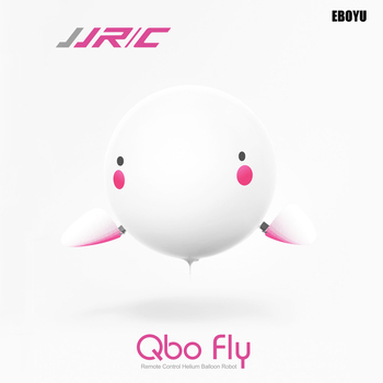 JJRC H80 Qbo Fly 2.4G DIY Safe RC Helium Balloon Robot Toy RC Helicopter Quadcopter Drone - 30mins Flight