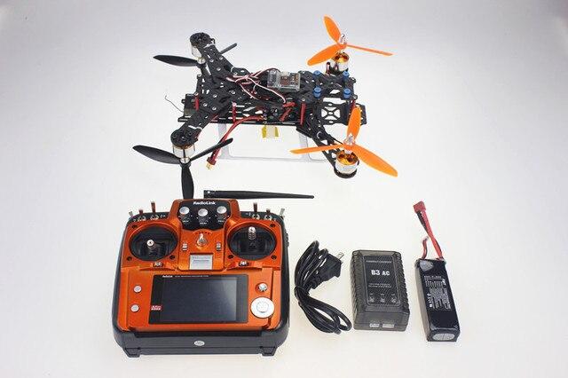 F11859-D Montados 300 H 300 H Mini FPV Quadcopter RTF Kit Completo de Fibra De Carbono Puro com AT10 TX & RX Carregador de bateria