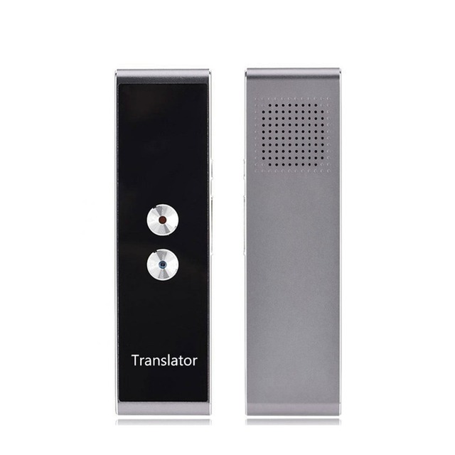 T8 Pocket Voice language Translator 30 Languages Two Way Real Time Intercom Portable Translator For Personal Learning Travelling